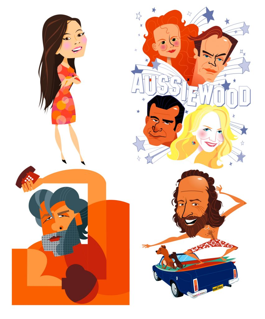 Vector caricatures