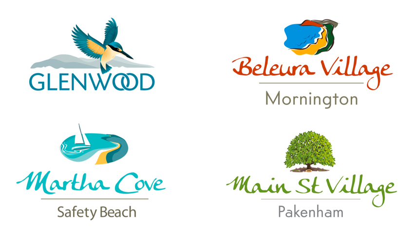 Vector Logo illustrations for real estate developments