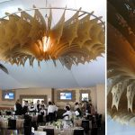 Vector Designs chandeliers for event installation